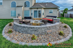 Backyard Makeover Landscape Photo