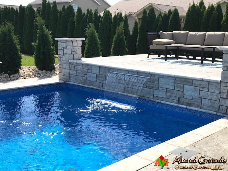 Belleville Pool Installation Photo