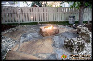 Fire Pit - Boulder Fire Pit 3