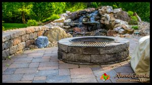 Fire Pit - Thomilson Fire Pit and Waterfall