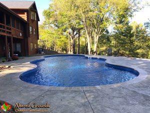 After Pool Install Glen Carbon