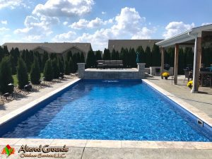 Granite City Pool Installation After Photo