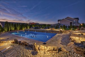St. Louis Pool Install Photograph